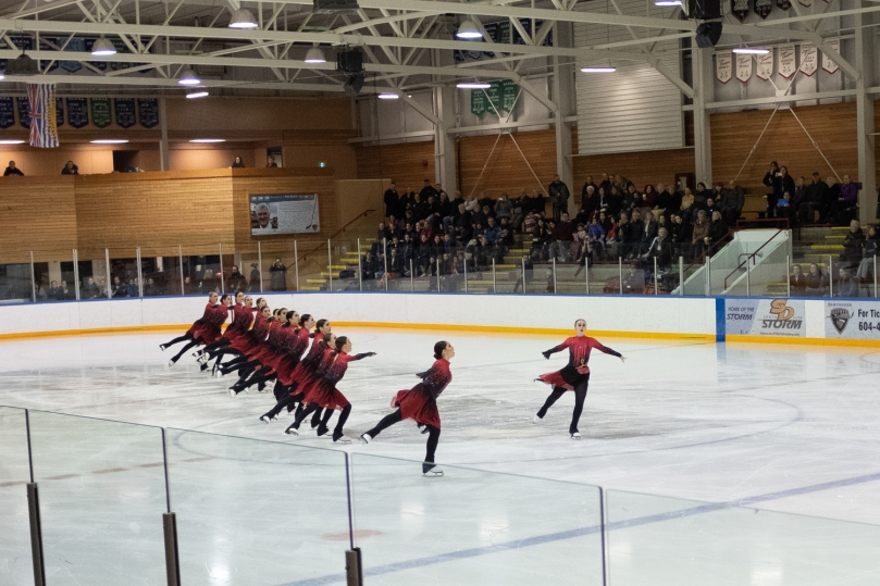 Team LMSSC Junior skating