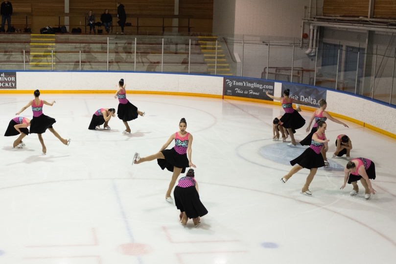Team LMSSC Open skating